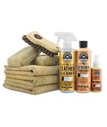 Chemical Guys HOL303 Leather Cleaner and Conditioner Care Kit, 4. Fluid_... - $58.05