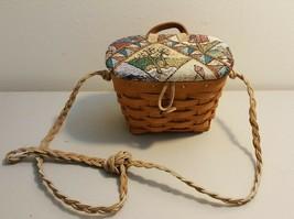 Longaberger 1994 Small Key Basket Made Into Kiddie Purse - $12.00