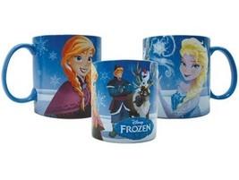 Walt Disney Frozen Movie Main Cast Images Wrap-Around 14 oz Ceramic Mug UNUSED - $9.72