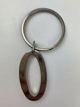 """Letter O 2.5"""" Plus 2"""" Hoop Heavy Duty Metal Key Chain Ring - £5.97 GBP"""