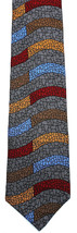 Men's Silk Necktie Vicky Davis Pisces Astrology Dress Fashion Gray Neck Tie - $19.75