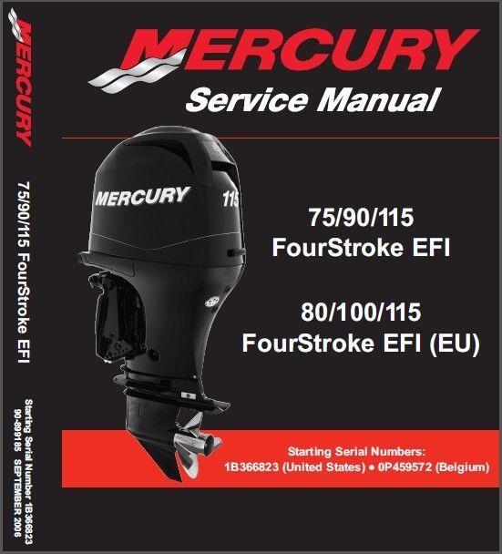 mercury 75 80 eu 90 100 eu 115 efi and 50 similar items rh bonanza com Mercury Verado Mercury 200 EFI Powerhead