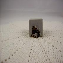 Signed Laurel Burch Keshire Cat Vintage Pin (#E217) - $30.00