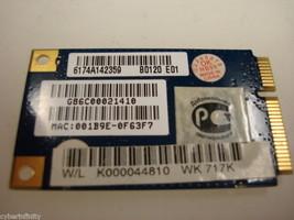 Toshiba Satellite A135 A215 Wireless Wifi Card K000044850 AR5BXB61 PA3501U-1MPC image 2