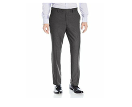 Greg Norman ~ Luxe Collection ~ Men's Slim Fit Pants ~ Charcoal Grid ~ 3... - $31.68