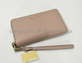 Michael Kors 32T8TFDE4L Multi-Function Leather Phone Wallet/Wristlet in ... - $109.00