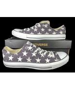 Converse Chuck Taylor All Star Ox Sneaker Distressed Black Stars 136613F... - $49.95