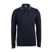 Hugo Boss Men's Premium Cotton Sport Long Sleeve Polo Shirt T-Shirt 50326123 image 4