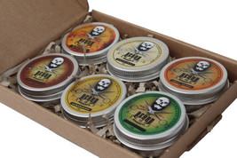 Beard Balm Ultimate Collection 6 Tins x 30ml - All Natural Organic Ingre... - $29.80