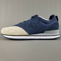 Converse Malden Racer Ox Suede Athletic Shoes Mens Size 9 Blue Cream White Gray - $37.39