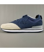 Converse Malden Racer Ox Suede Athletic Shoes Mens Size 9 Blue Cream Whi... - $37.39