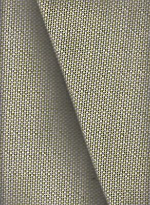 11.5 yds Textile Mania Upholstery Fabric Satellite Worsted Wool Delta Green NV