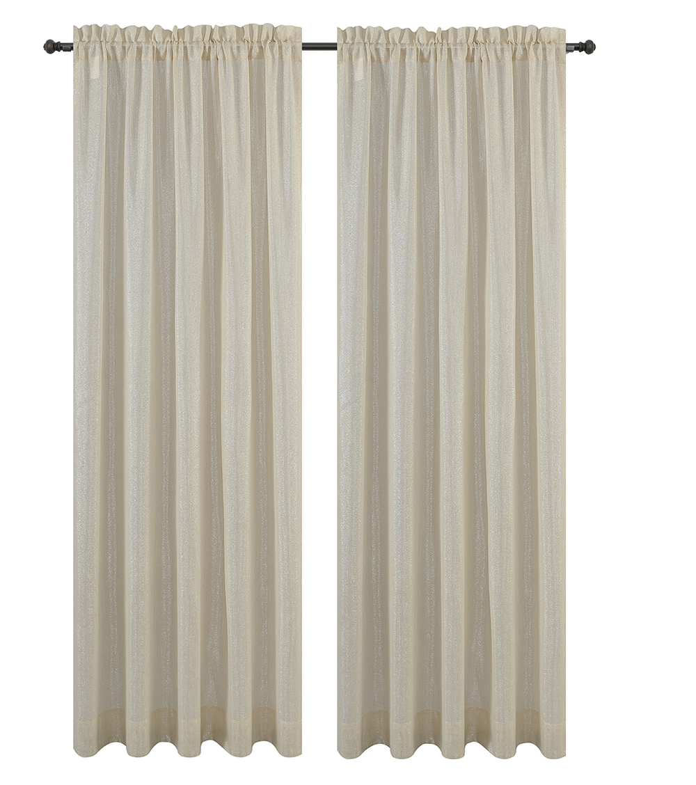 Urbanest Cosmo Set of 2 Sheer Curtain Panels image 10