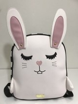 Luv by Betsey Johnson Bunny Rabbit Easter Backpack Black and White NWT - $60.41