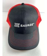 Shot Show 2020 Red Black SAVAGE Snap Back Baseball Style Cap - $24.74