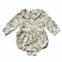 Newborn Baby Girl Clothes Floral Long Sleeve Romper Jumpsuit Bodysuit Ou... - $7.59