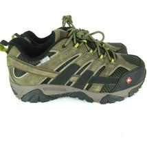 MERRELL Moab 2 Vent Waterproof Comp Toe Men's Work Hiking Shoes Boot Boulder - $65.44