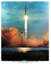 Signed (by Frank Borman) Photograph of Apollo 8 Launch - $100.00