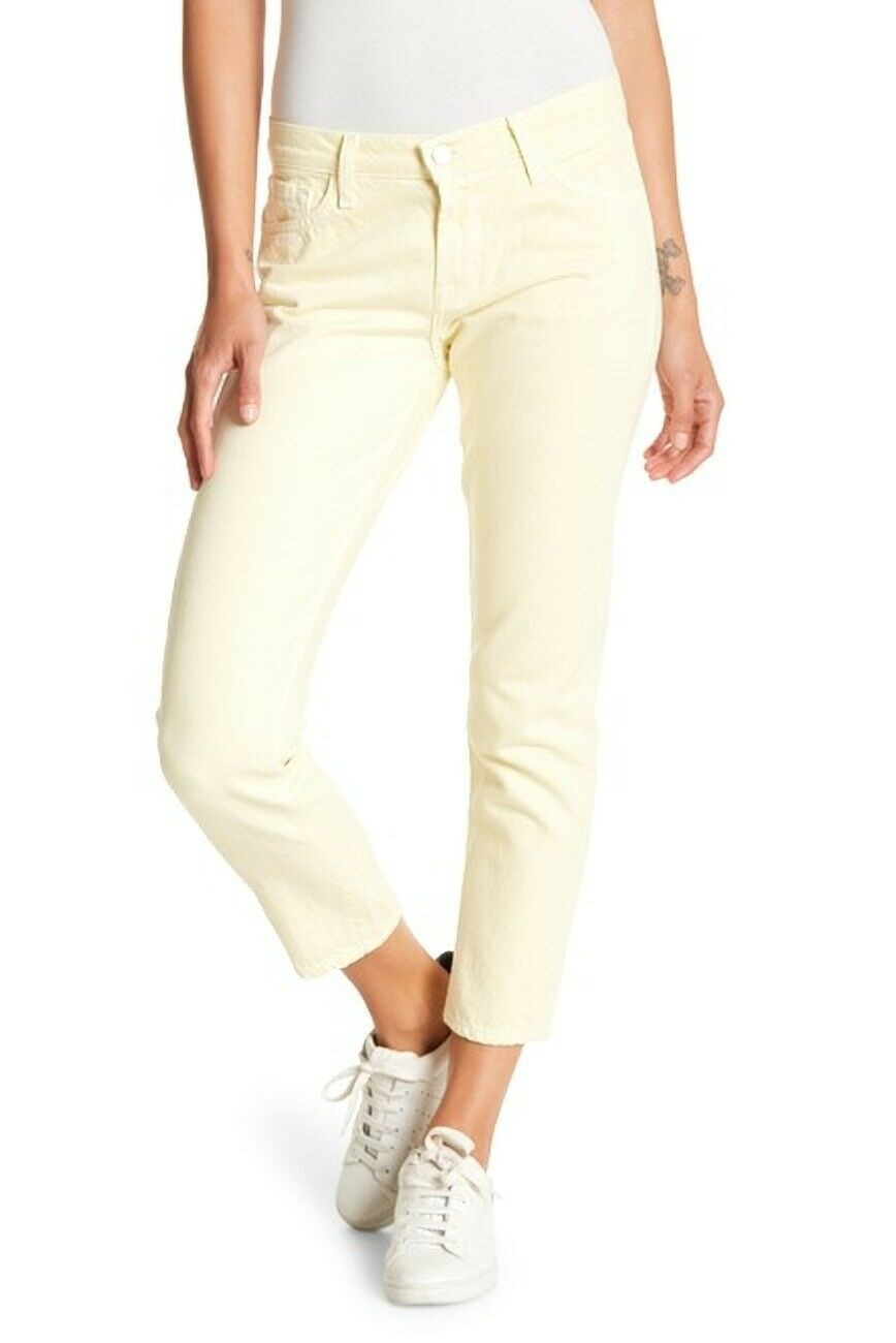J Brand Sadey Butter Slim Straight Leg Size 24 MSRP: $198.00