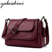 YABEISHINI Fashion Women Messenger Bags Genuine Leather Bags Women Handbags Shou - $49.13
