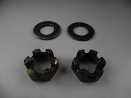 1987 Lt185 Suzuki Lt 185 Quadrunner Front Spindle Nuts And Washers 08314... - $9.95