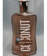 Bath & Body Works Signature Vanilla COCONUT Body Wash Shower Gel 10 oz  - $13.66