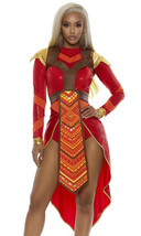 Forplay Wakanda Forever Epic Warrior Sexy Comic Book Halloween Costume 5... - $139.10