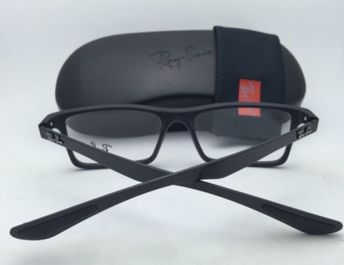 46a0425ae2 New RAY-BAN Eyeglasses TECH SERIES RB 8901 5263 53-17 Black   Carbon