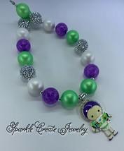 Buzz Lightyear Chunky Bubblegum Necklace image 2
