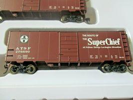 Walthers  Mainline # 910-51402 Santa Fe Slogan PS-1 40' Boxcars (4-PK)  HO-Scale image 6
