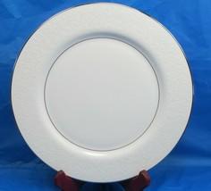 "6 Mikasa Bridal Veil 10 1/4"" Dinner Plate/s Pristine Condition Bundle of 6 - $57.23"