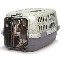 TRAVEL DOG CARRY CRATE Small Plastic Secure Pet Carrier for Airline Car ... - $59.29+