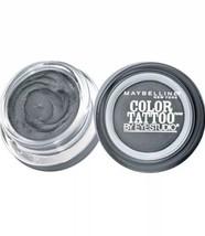 Maybelline Eye Studio Color Tattoo 24hr Eyeshadow #15 Audacious Asphalt ... - $8.91