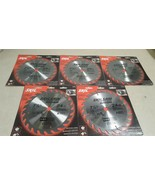 """LOT OF 5 - SKIL 7-1/4"""" 24 TOOTH CARBIDE TIPPED SAW BLADE 75724W - $32.25"""