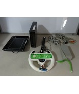 FULLY TESTED Black Wii Console System w/ Controller & UDraw Tablet + Gam... - $62.36