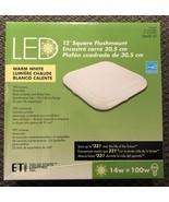 12 In. Square Flushmount LED Warm White 54616101 - $15.83