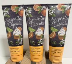 Bath and Body Works Lot of 3 Margarita Cupcake Ultra Shea Body Cream 8 O... - $38.34