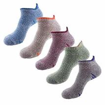 PANDA SUPERSTORE Set of 3 Comfy Quick-Dry Ankle Socks Outdoor Sports Soc... - £18.88 GBP