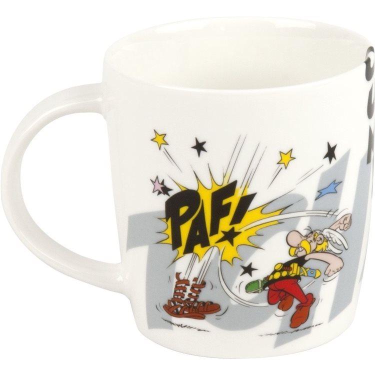 Asterix mug asterix and obelix fightings the romans ko 380ml konitz  2