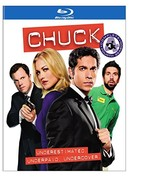 Chuck: The Complete Fourth Season [Blu-ray] - $14.95
