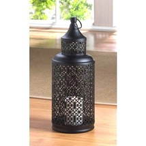"Tower Lantern Large Marvelous Candle Holder Wedding Centerpiece 16"" Tall - $17.77"