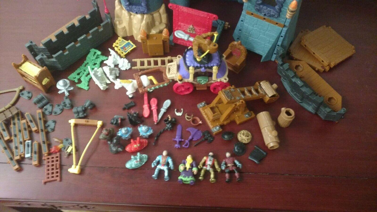 Imaginext Medieval Battle Castle Parts and accessories image 2