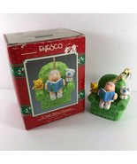 1990 ENESCO ZIGGY A NIGHT BEFORE CHRISTMAS Tree Ornament First Issue 1990 - $29.69