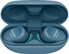 Sony WF-SP800N True Wireless Noise-Cancelling In-Ear Headphones - BLUE #53 - $77.55