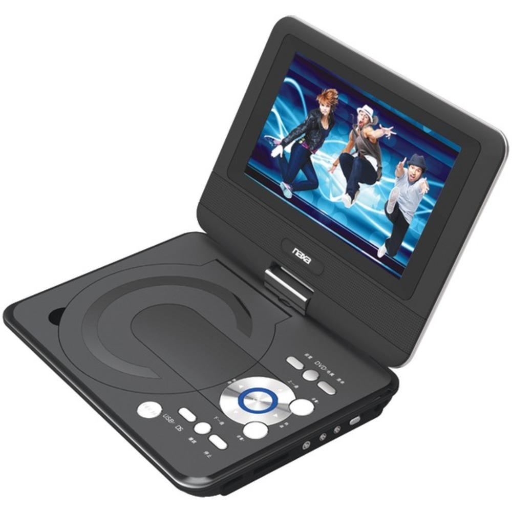 Naxa NPD952 9 TFT LCD Swivel-Screen Portable DVD Player