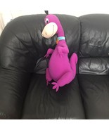 "VTG Vintage Hanna-Barbera The Flintstones Purple Dino Dinosaur Plush 27"" - $799.99"