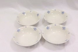 Gibson Christmas Snow Festival Soup Cereal Bowls Set of 4 - $32.33