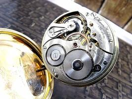 HOWARD Watch co. antique pocket watch 17 jewels J Boss 25 years Boston USA - $322.58