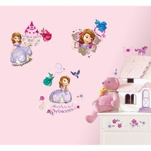 Roommates Sofia The First Peel And Stick Wall Decals.. - $16.99