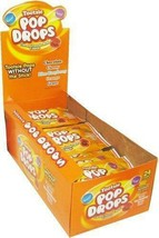 Tootsie Pop Drops Candy 24 Pouches 5 flavors of Tootsie Pops without the stick - $23.97